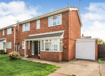 Thumbnail 3 bed detached house for sale in Woodville Road, Canvey Island