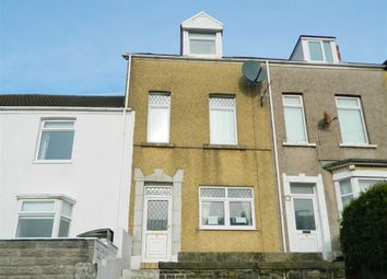 Thumbnail 4 bed terraced house for sale in Mackworth Terrace, St. Thomas, Swansea