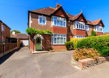 Thumbnail 4 bed semi-detached house for sale in Lansdowne Road, Angmering, Littlehampton