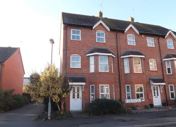 Thumbnail 3 bed end terrace house for sale in Wood End, Evesham