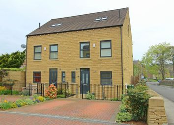 Thumbnail 4 bed semi-detached house for sale in Bradshaw Gardens, Bradshaw Road, Honley, Holmfirth