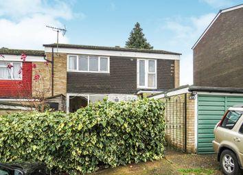 Thumbnail 3 bed end terrace house for sale in Wisden Road, Stevenage