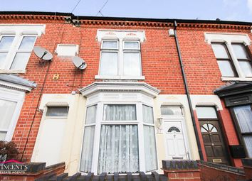 Thumbnail 3 bed terraced house for sale in Shaftesbury Road, Leicester