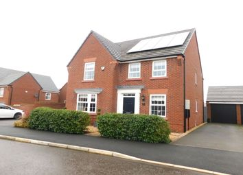 Thumbnail 4 bed detached house for sale in Ridding Drive, Crewe
