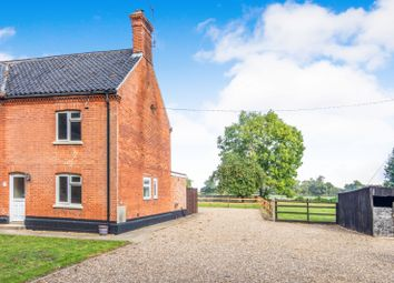 Thumbnail 3 bed end terrace house to rent in Hall Cottages, Wangford Road, Reydon