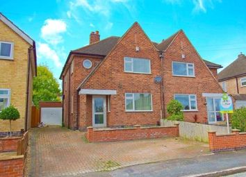 Thumbnail 3 bed semi-detached house to rent in Denegate Avenue, Birstall, Leicester, Leicestershire