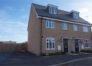 Thumbnail 3 bed semi-detached house for sale in Binyon Close, Stowmarket