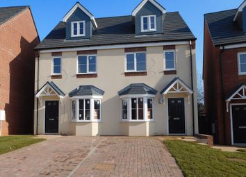 Thumbnail 3 bedroom semi-detached house for sale in Marton Close, Redditch