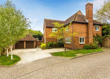 Thumbnail 5 bed detached house for sale in Lightwater, Surrey