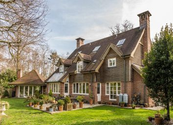 Thumbnail 5 bed detached house for sale in Woodside, Chilworth, Southampton