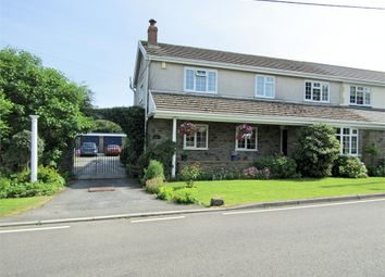 Thumbnail 3 bed semi-detached house for sale in Five Roads, Llanelli, Carmarthenshire
