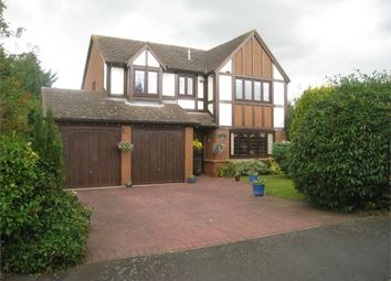 Thumbnail 4 bed detached house for sale in Hall Farm Crescent, Broughton Astley, Leicester