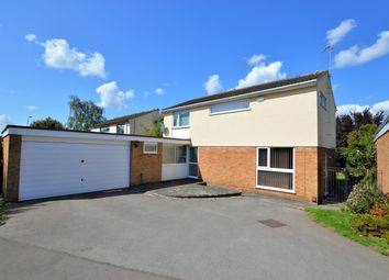 Thumbnail 4 bed detached house for sale in Purbeck Close, Wigston