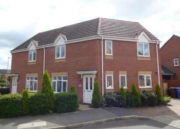 Thumbnail 3 bed semi-detached house for sale in Hevea Road, Burton-On-Trent, Staffordshire