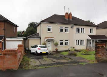 Thumbnail 3 bedroom semi-detached house for sale in Sedgley Hall Avenue, Sedgley, Dudley