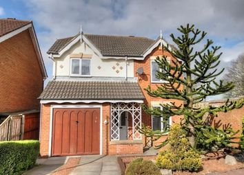 Thumbnail 4 bed detached house for sale in Thirlington Close, Windsor Gardens, Newcastle Upon Tyne