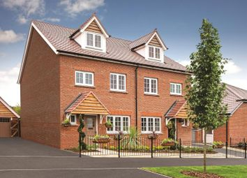 Thumbnail 4 bed terraced house for sale in Castle Fields, Manor Road, Barton Seagrave, Kettering