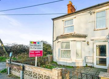 Thumbnail 3 bedroom end terrace house for sale in London Road, Gisleham, Lowestoft