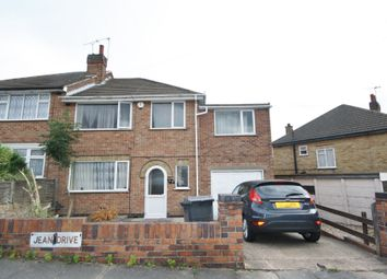 Thumbnail 5 bed semi-detached house to rent in Jean Drive, Abbey Lane, Leicester