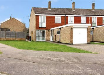 Thumbnail 3 bed end terrace house for sale in Heather Close, Copthorne, Crawley