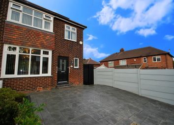 Thumbnail 3 bed semi-detached house for sale in Weston Drive, Cheadle Hulme