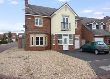Thumbnail 4 bed detached house for sale in Mulberry Close, Blyth
