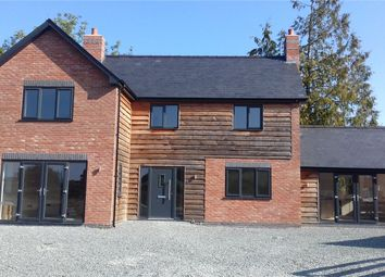 Thumbnail 4 bedroom detached house for sale in 4 Church Farm Close, Forden, Welshpool
