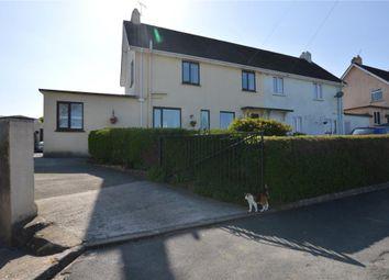 Thumbnail 4 bed semi-detached house for sale in Glebelands, Buckfastleigh, Devon