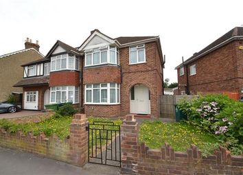 Thumbnail 3 bed semi-detached house for sale in Oaks Road, Stanwell, Staines