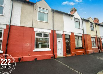 Thumbnail 3 bed terraced house to rent in Rock Road, Warrington