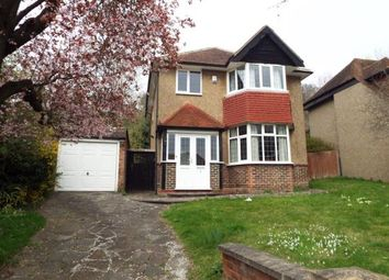 Thumbnail 3 bed detached house for sale in Ballards Way, South Croydon, 7 Ballards Way CR27Jp, Surrey