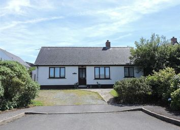 Thumbnail 2 bed detached bungalow for sale in Crofty Close, Croesgoch, Haverfordwest