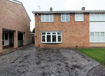 Thumbnail 3 bed semi-detached house for sale in Treetops Drive, Willenhall