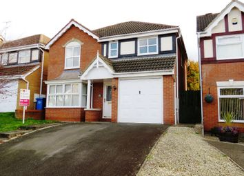 Thumbnail 4 bed detached house for sale in Harwood Drive, Kettering