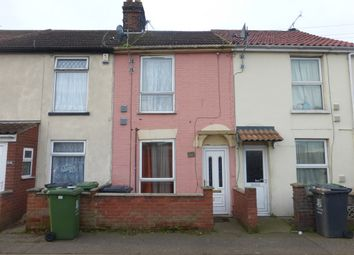 Thumbnail 2 bedroom terraced house for sale in Mill Road, Great Yarmouth