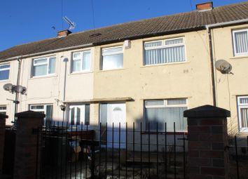 Thumbnail 3 bed terraced house for sale in Pope Grove, Hartlepool