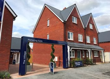 Thumbnail 3 bed town house for sale in William Morris Way, Tadpole Garden Village, Swindon