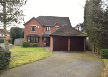 Thumbnail 4 bed detached house for sale in Ulleswater Crescent, Ashby De La Zouch