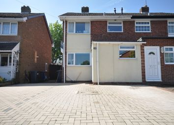 Thumbnail 3 bed semi-detached house to rent in Oak Road, Barton Under Needwood, Staffordshire