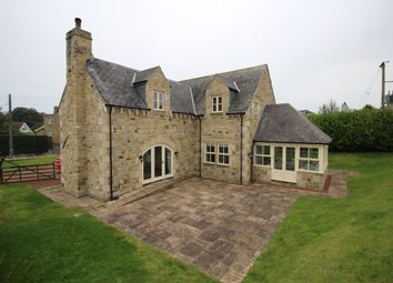 Thumbnail 4 bed detached house for sale in South End, Longhoughton, Alnwick