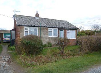 Thumbnail 2 bedroom detached bungalow for sale in Lynton Road, Walcott, Norwich