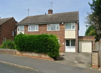Thumbnail 3 bedroom semi-detached house for sale in Mead Close, Peterborough, Cambridgeshire