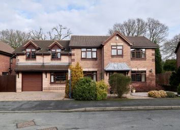 Thumbnail 5 bed detached house for sale in Plover Drive, Biddulph, Staffordshire