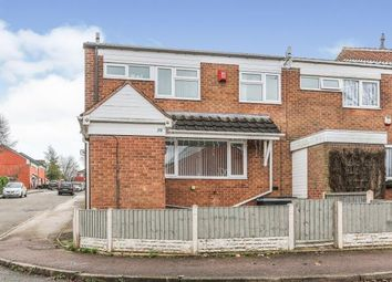 Thumbnail 4 bed end terrace house for sale in Roach Close, Birmingham, .
