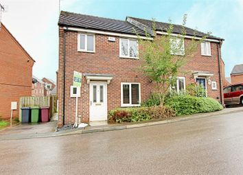 Thumbnail 3 bed semi-detached house to rent in Wylam Close, Clay Cross, Chesterfield, Derbyshire
