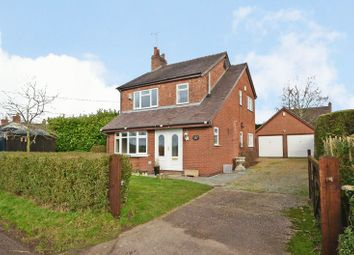 Thumbnail 3 bed detached house for sale in Cash Lane, Eccleshall, Staffordshire