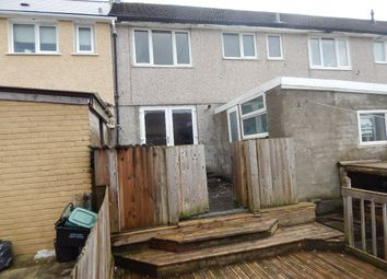 Thumbnail 3 bed terraced house for sale in East Pentwyn, Blaina, Abertillery