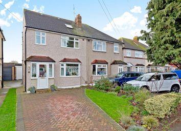 Thumbnail 3 bed semi-detached house for sale in Oakhurst Road, West Ewell, Epsom