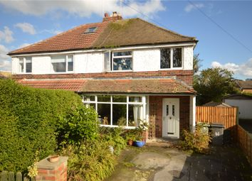 Thumbnail 3 bed semi-detached house for sale in Fieldhead Road, Guiseley, Leeds, West Yorkshire