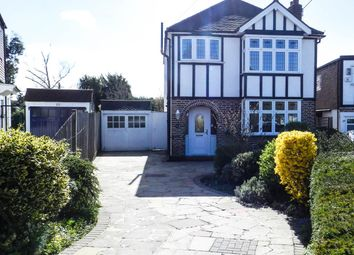 Thumbnail 3 bed detached house for sale in Clandon Close, Stoneleigh, Epsom